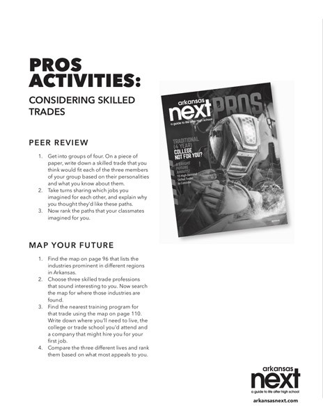 2018/2019 Arkansas NEXT PROS Activities